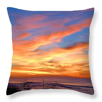 Sunrise Dune I I I Throw Pillow
