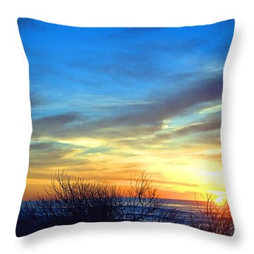 Sunrise Dune I I Throw Pillow