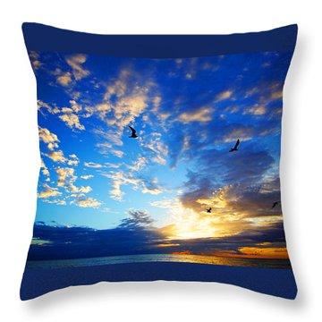 Sunrise Freedom Throw Pillow