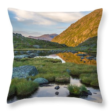 Sunrise From Star Lake Throw Pillow