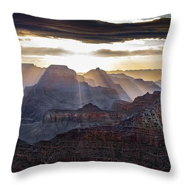 Sunrise Grand Canyon Throw Pillow