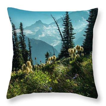 Sunrise Heaven Throw Pillow