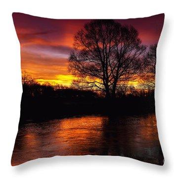 Sunrise II Throw Pillow