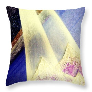 Sunrise  In Alpine Throw Pillow
