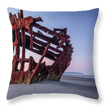 Sunrise In Astoria Throw Pillow