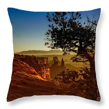 Throw Pillow featuring the photograph Sunrise Inspiration by Kristal Kraft