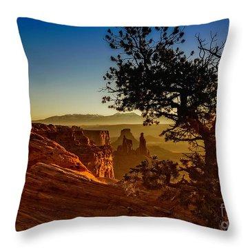 Sunrise Inspiration Throw Pillow by Kristal Kraft