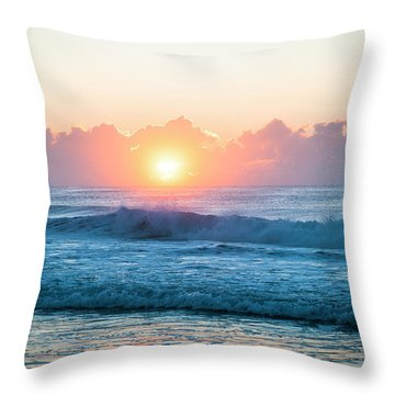 Sunrise Throw Pillow by Lana Enderle