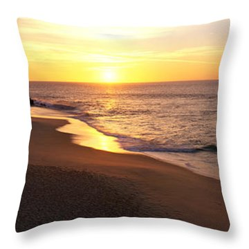 Sunrise Los Cabos Mexico Throw Pillow