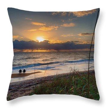 Sunrise Love Throw Pillow