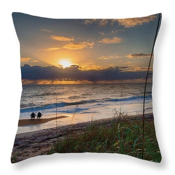 Sunrise Love Throw Pillow
