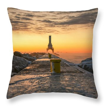 Sunrise Magic Throw Pillow