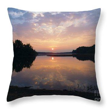Sunrise Morning Bliss 152b Throw Pillow