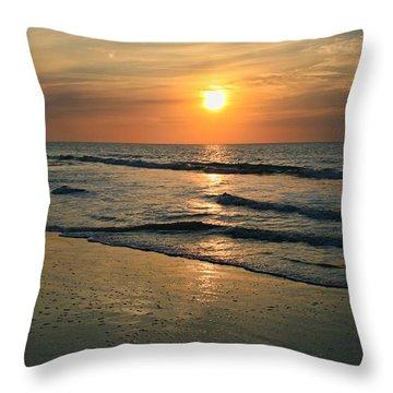 Sunrise Myrtle Beach Throw Pillow