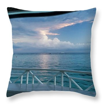 Sunrise, Ocho Rios, Jamaica Throw Pillow