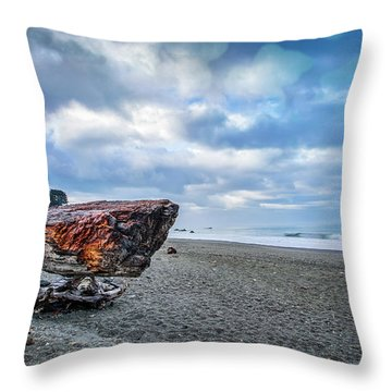Sunrise On Brookings Throw Pillow