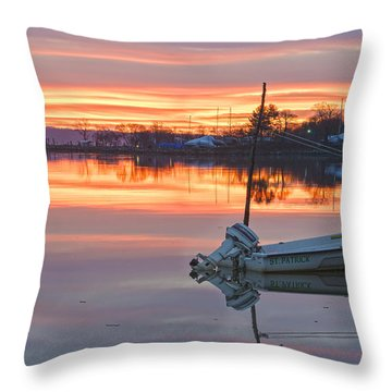 Sunrise On Christmas Day Throw Pillow