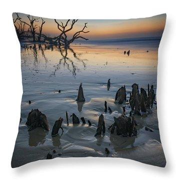 Sunrise On Edisto Island Throw Pillow