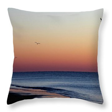 Sunrise On Hilton Head Throw Pillow