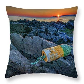 Throw Pillow featuring the photograph Sunrise On Passamaquoddy Bay by Rick Berk