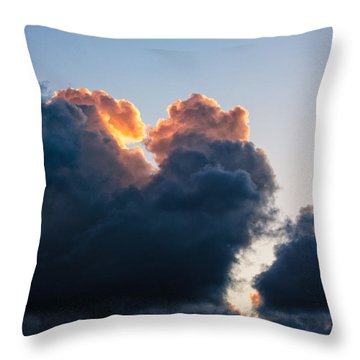 Sunrise On The Atlantic #10 Throw Pillow