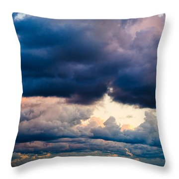 Sunrise On The Atlantic #11 Throw Pillow