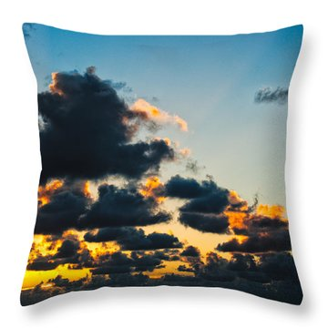 Sunrise On The Atlantic #14 Throw Pillow