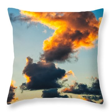 Sunrise On The Atlantic #16 Throw Pillow