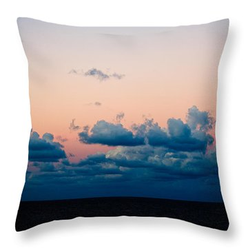 Sunrise On The Atlantic #2 Throw Pillow