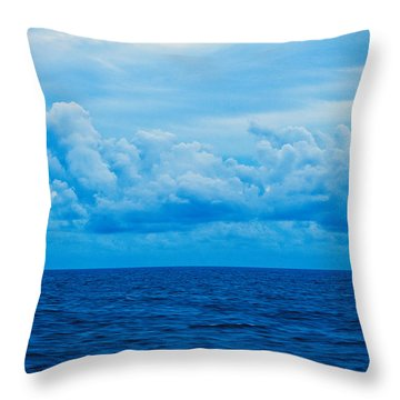 Sunrise On The Atlantic #27 Throw Pillow