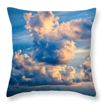 Sunrise On The Atlantic #31 Throw Pillow