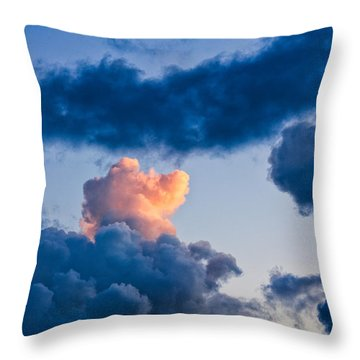 Sunrise On The Atlantic #6 Throw Pillow