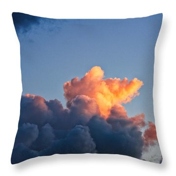 Sunrise On The Atlantic #8 Throw Pillow