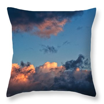 Sunrise On The Atlantic #9 Throw Pillow