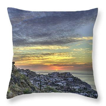 Sunrise On The Coast Throw Pillow