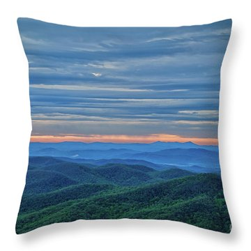 Sunrise On The Parkway Throw Pillow