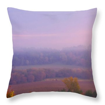 Sunrise Over Mid Valley 2 Throw Pillow