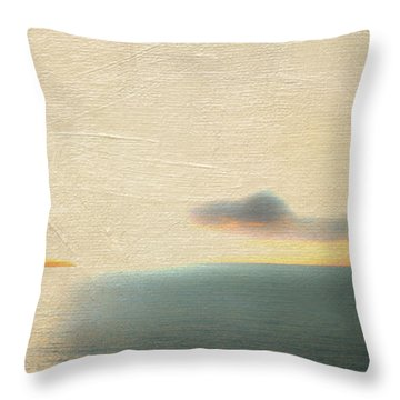 Sunrise Over St. Thomas Throw Pillow by Frank Bright