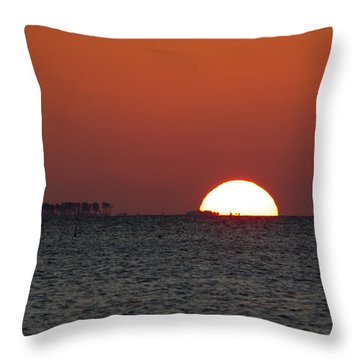 Sunrise Over The Bay 5x7 Throw Pillow