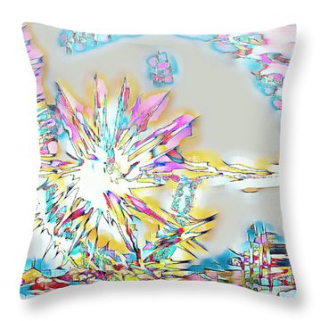 Sunrise Over The City Throw Pillow
