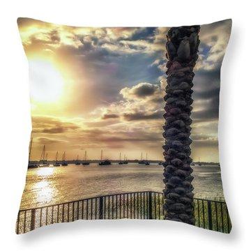 Sunrise Over The Matanzas Throw Pillow