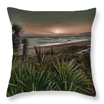 Sunrise Picnic Throw Pillow