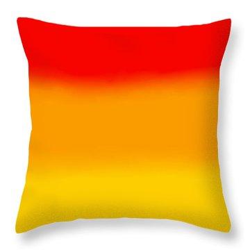 Sunrise - R Block Throw Pillow