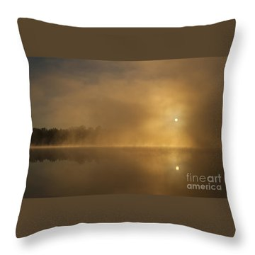 Sunrise Relections Throw Pillow