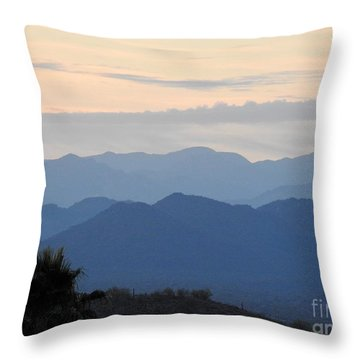 Sunrise Series #7 Throw Pillow