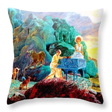 Sunrise Sonata Throw Pillow