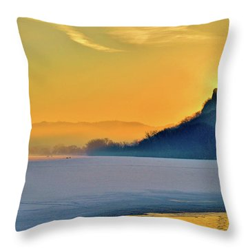 Sunrise Sparkle Throw Pillow