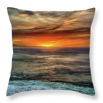 Sunrise Special 2 Throw Pillow