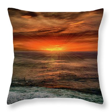 Sunrise Special Throw Pillow by Joseph Hollingsworth