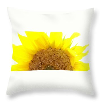 Sunflower Sunrise Throw Pillow